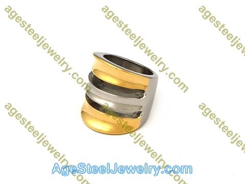 Plating Ring R2590 Gold Color