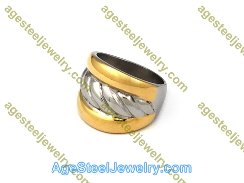 Plating Ring R2593 Gold Color