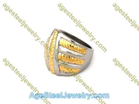 Plating Ring R2596 Gold Color