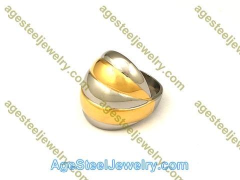 Plating Ring R2604 Gold Color