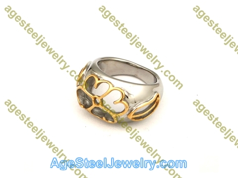 Plating Ring R2642 Gold