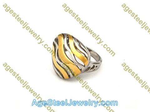 Plating Ring R2644 Gold