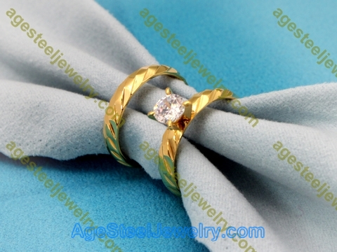 Couples Rings R2936 Gold