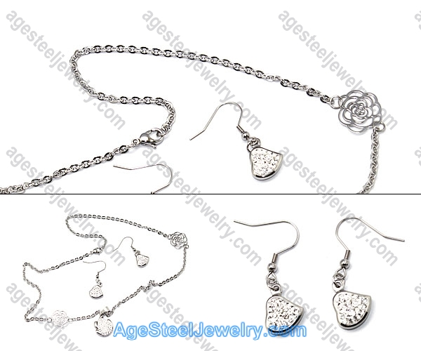 Necklace & Earring S0245