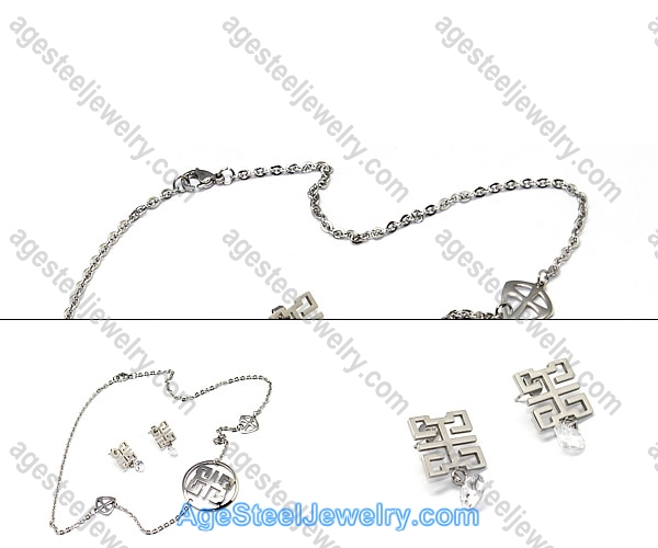 Necklace & Earring S0246