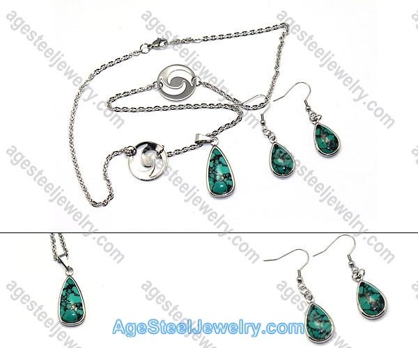 Necklace & Earring S0256