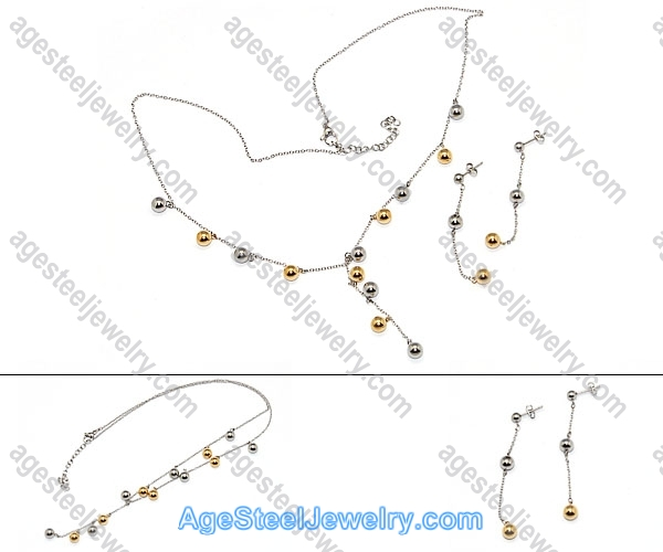 Necklace & Earring S0269