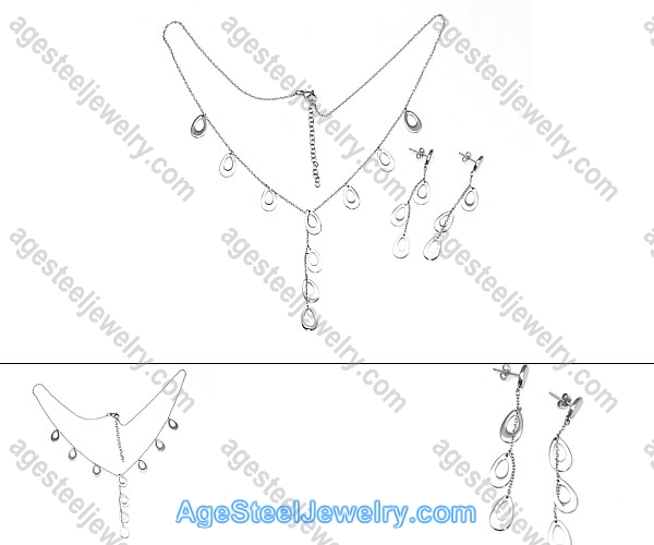 Necklace & Earring S0271